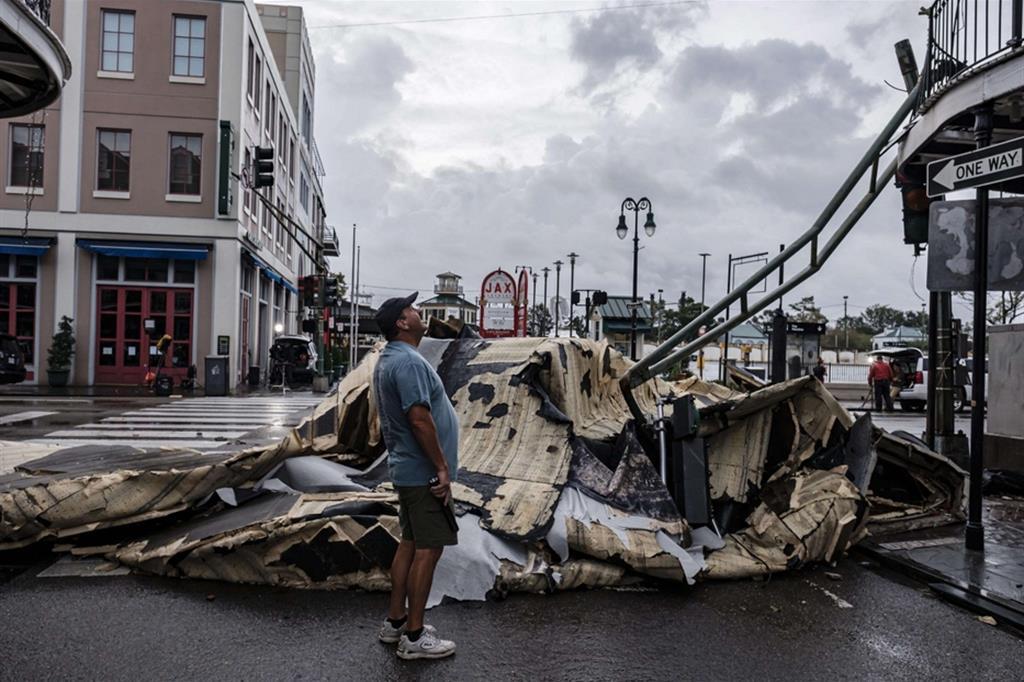 Distruzione in Louisiana - Reuters
