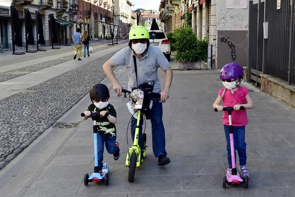 Famiglia a Milano