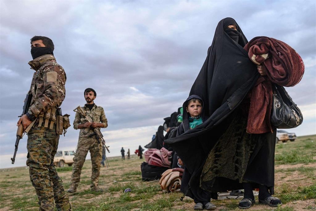 Protezione - L'arrivo nella zona controllata dai soldati curdi, 2019 - Ansa
