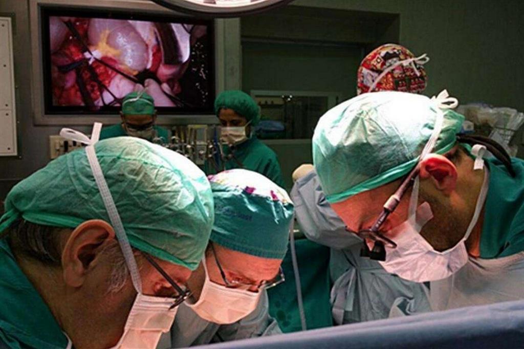 Un'operazione chirugica alla Città della Salute di Torino