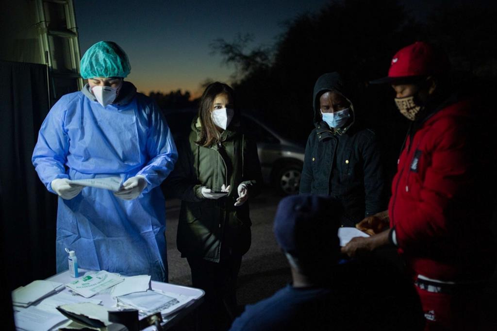 Per l'ottavo anno consecutivo, Medici per i Diritti Umani (MEDU) ha operato nella Piana di Gioia Tauro, in Calabria, durante la stagione di raccolta degli agrumi - Valerio Muscella / Medici per i Diritti Umani (MEDU)