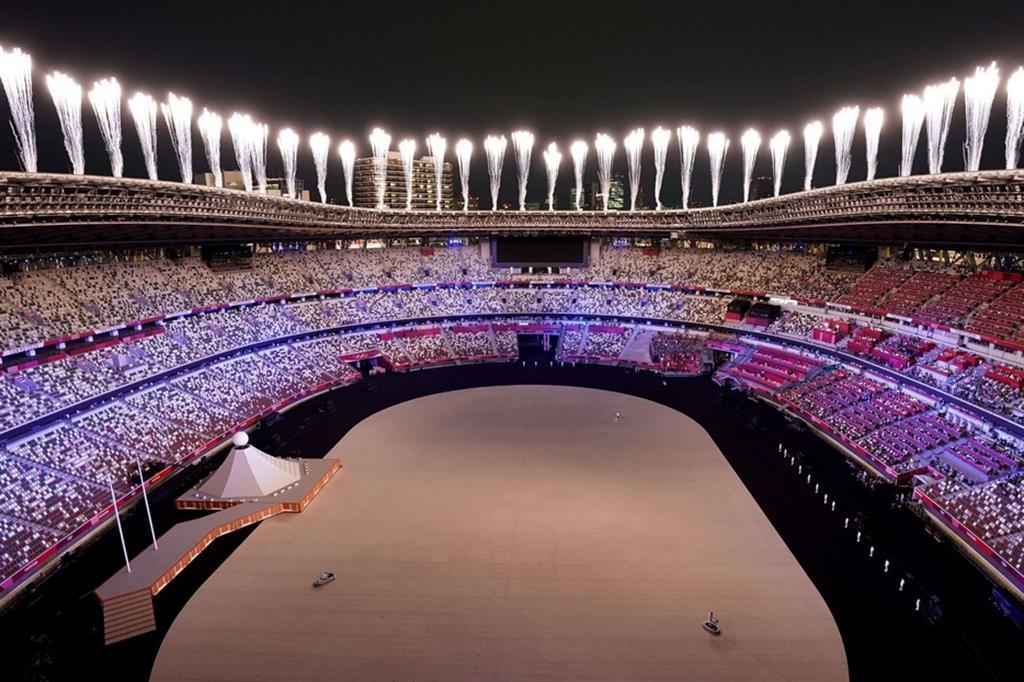 Le foto della cerimonia di apertura delle Olimpiadi