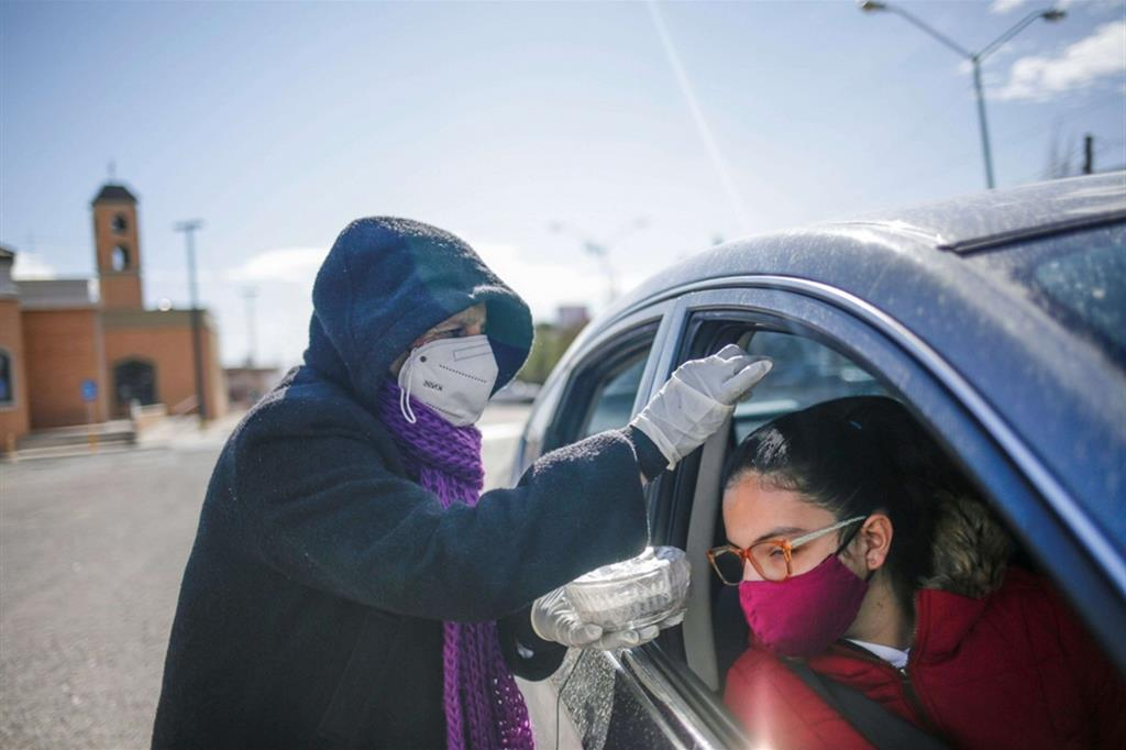 Le Ceneri drive-in a Ciudad Juarez, Messico - Reuters