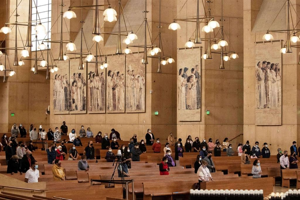 Cattedrale di Los Angeles - Reuters