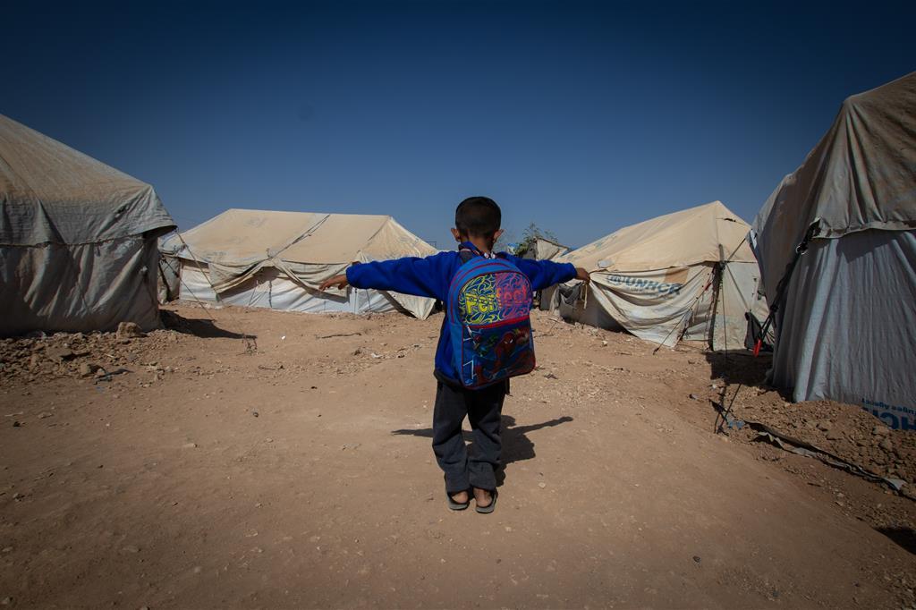 Il campo di Al Hol, a nord est della Siria - Su gentile concessione di Save the Children