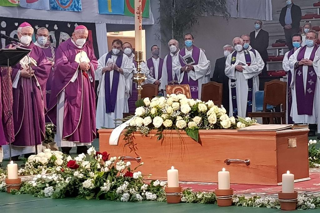 I funerali di Nadia De Munari