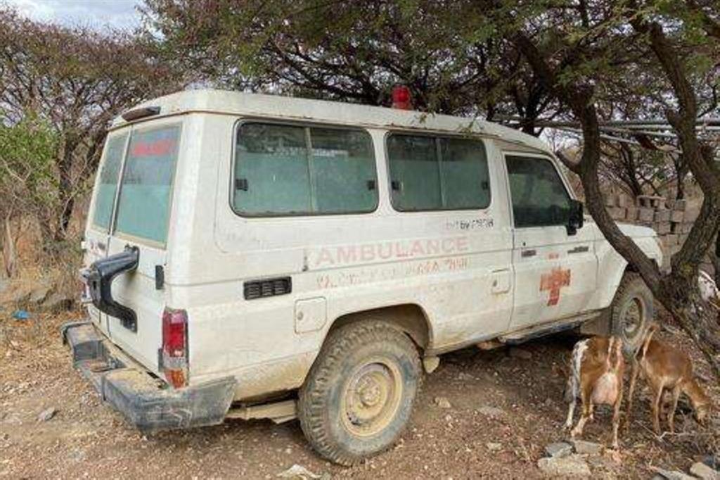 L'ambulanza di Abiy Addi - Msf