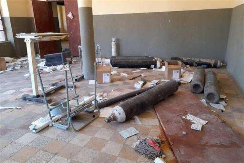 L'ospedale Selekleka - Msf