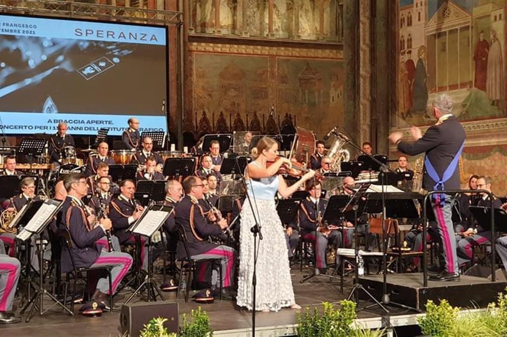 La Banda musicale a «Il Cortile di Francesco»