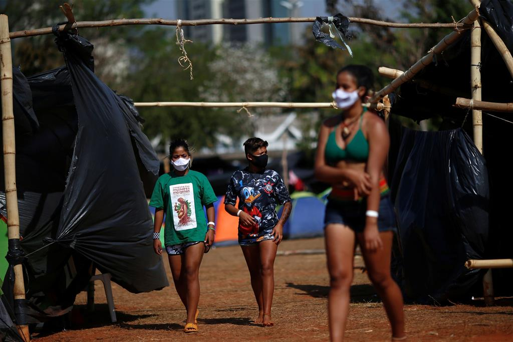"""La Corte Suprema si deve pronunciare dopo che le autorità dello stato di Santa Catarina hanno fatto ricorso contro gli indigeni per alcune terre loro restituite. Le avrebbero ottenute con un """"abuso"""". - Reuters"""