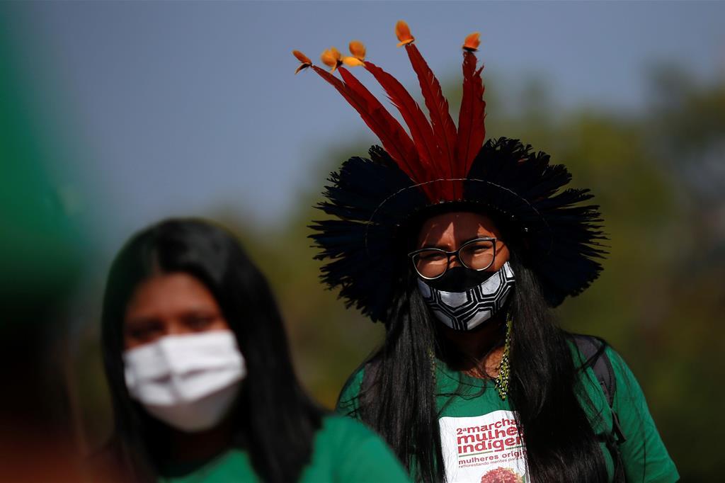 """Le autorità di Santa Catarina ritengono che il riottenimento delle terre sia avvenuto in maniera """"abusiva"""" perché ha riguardato territori che non erano più proprietà degli indigeni al momento di entrata in vigore della Costituzione. - Reuters"""