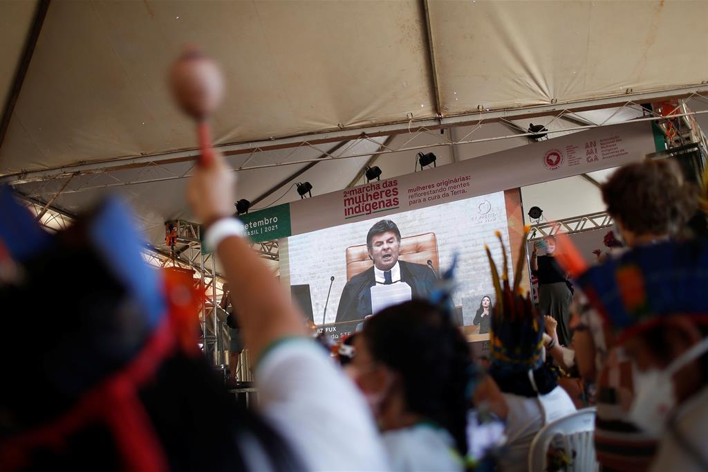La pronuncia della Corte Suprema doveva avvenire il 25 agosto, ma è stata rimandata. L'attesa continua. - Reuters