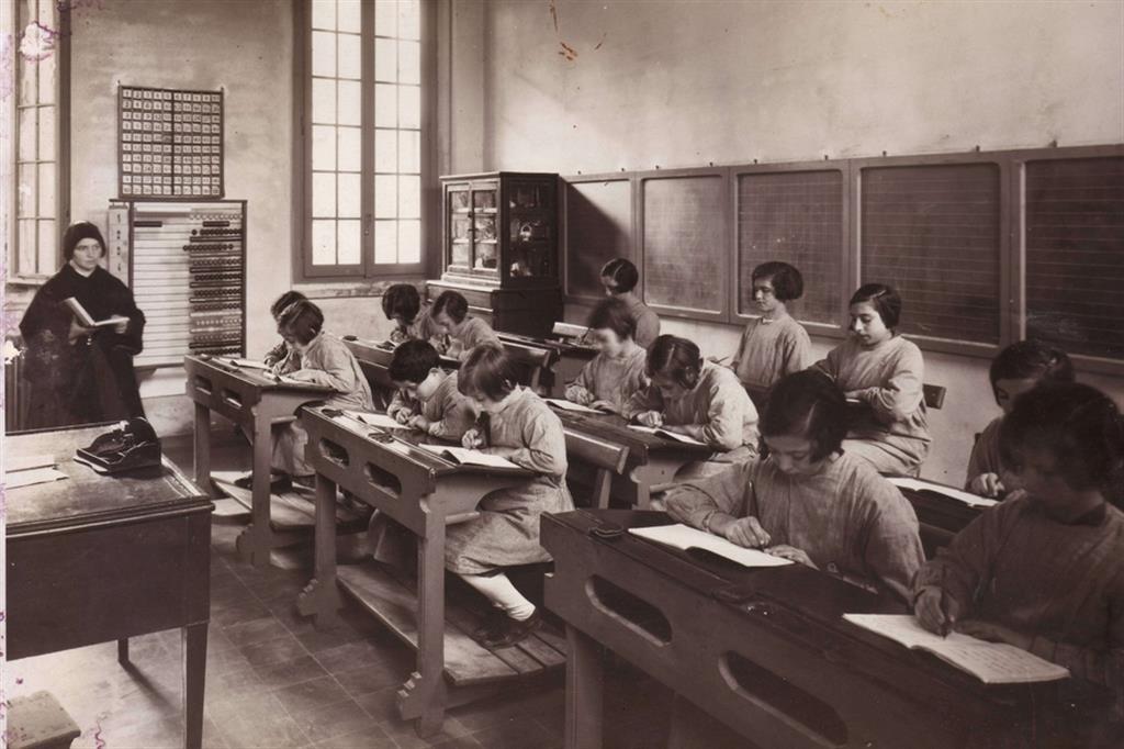 Scuole speciali nel 1935 - Fondazione Sacra Famiglia