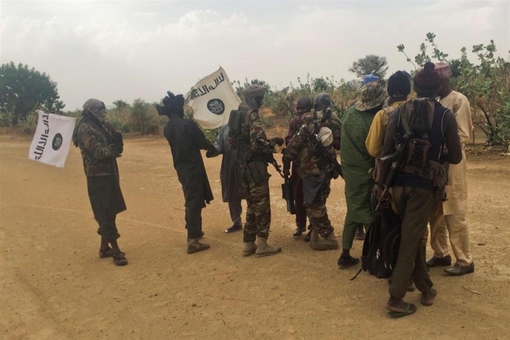 Miliziani di Boko Haram nel nord della Nigeria