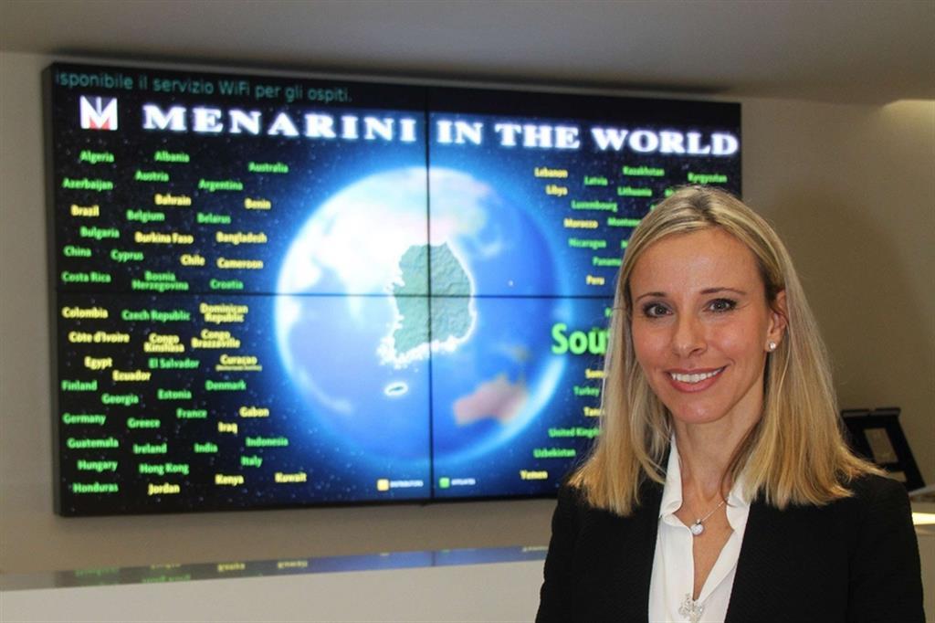 Lucia Aleotti, azionista e membro del board dell'azienda farmaceutica Menarini